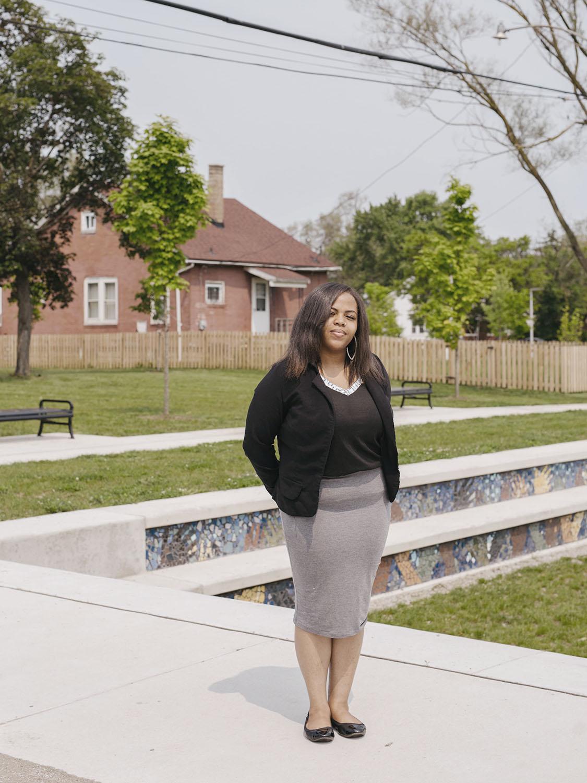 Chantale Greer, Outreach Ambassador, The Greening of Detroit