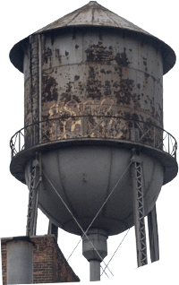 Ruined Water Tower