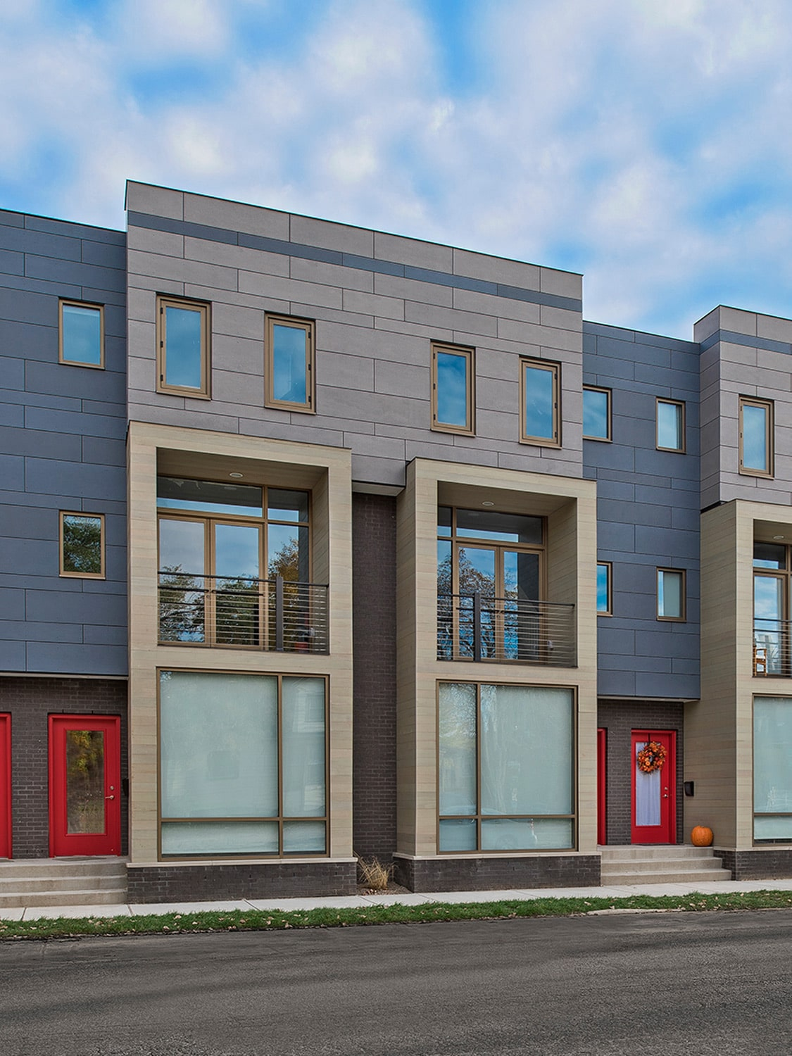 The Coe is the first project of the $30 million Strategic Neighborhood Fund, a collaborative partnership between Invest Detroit, the Detroit Development Fund and Opportunity Resource Fund. It's a 12-unit development in the West Village neighborhood of Detroit.