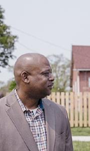 Lionel Bradford, President of The Greening of Detroit